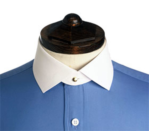Fold down detachable starch collars 45 for Starch on dress shirts