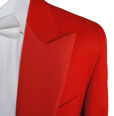 FOR HIRE - Red Toastmaster Coat - £49