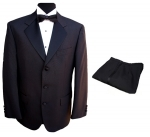 3 Button Single Breasted Dinner Suit