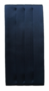 Black Satin Cummerbund