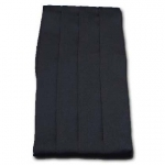 100% Black Silk Satin Cummerbund