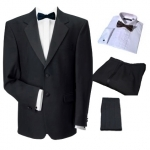 FOR HIRE - Dinner Suit, Shirt, Bow Tie & Cummerbund