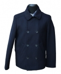 French Connection - Navy Blue Pea Coat