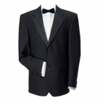100% Wool Black Dinner Jacket