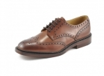 Loake - Chester Mahogany Brogue Shoes