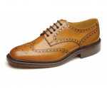 Loake - Chester Tan Brogue Shoes