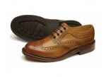 Loake - Edward Tan Brogue Shoes