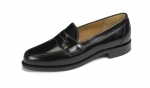 Loake - Eton Black Loafer Shoes