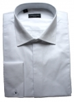 100% Cotton Fly Front Marcella Fold Down Collar Shirt