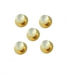 Set of 5 Mother of Pearl Shirt Studs