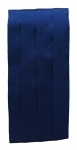 Navy Blue Satin Cummerbund