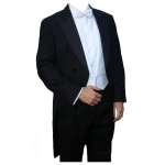 Poly-Wool White Tie Tailcoat