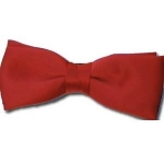 Red Pre-Tied Bow Tie