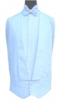Poly-Cotton White Marcella Waistcoat