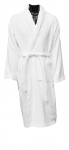 100% White Cotton Terry Towelling Dressing Gown