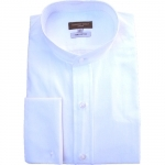 Traditional Pure Cotton White Tunic Shirt