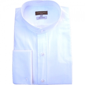 RE-PACKAGED Traditional Pure White Cotton Tunic Shirt