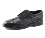 Loake Taunton Black Brogue Shoes (UK size 8.5)