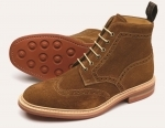Loake Winchester Suede Boots (UK size 8)