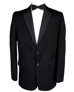 Finest Barathea Wool Single Breasted Dinner Jacket